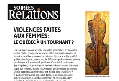 Violences faites aux femmes : le Québec à un tournant ?