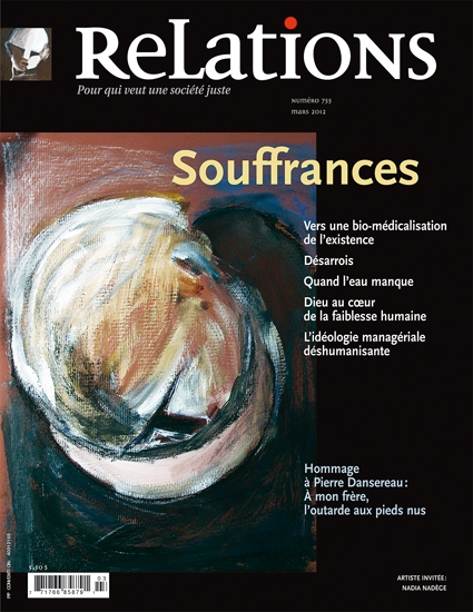 Couverture Relations no 755