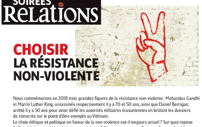 Choisir la résistance non-violente