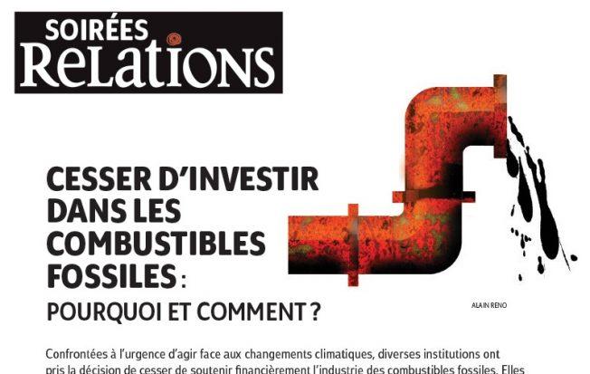 Cesser d'investir dans les combustibles fossiles : Pourquoi et comment ? | À Montréal