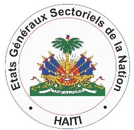 Le potentiel minier d'Haïti présenté aux États généraux sectoriels de la nation