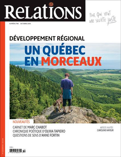Développement régional – Un Québec en morceaux