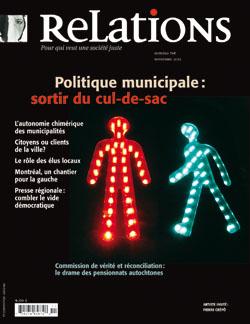 Politique municipale: sortir du cul-de-sac